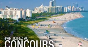 Concours gagnez vos billets d'avion à destination de Miami et 500 $ d'argent de poche