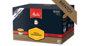 Emballage de 12 dosettes de café Melitta à 4,49$
