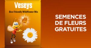 Paquet de semences pour fleurs sauvages Veseys gratuit
