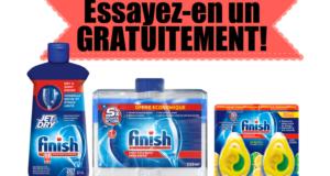 Remise postale sur le désodorisant pour lave-vaisselle Finish