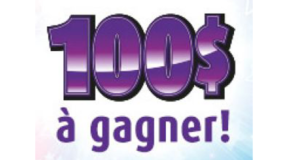 100$ en argent