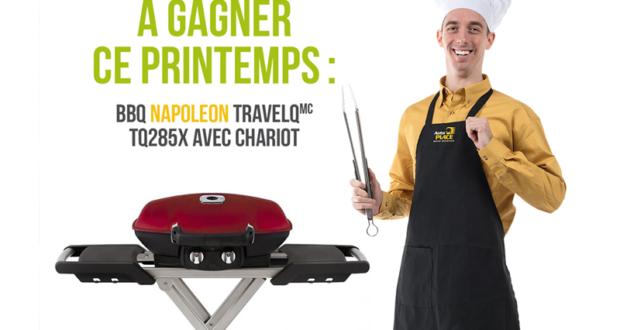 BBQ portatif Napoleon TQ285X avec chariot