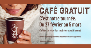 Café Gratuit dans les restaurants McDonald's