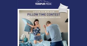 Concours gagnez un oreiller souple et compact de TEMPUR-Cloud