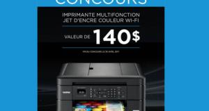 Imprimante Brother Multifonction MFCJ-480DW de 140$