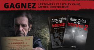 Tomes 1 et 2 du thriller autobiographique Alex Caine