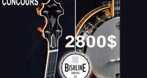 Un Banjo d'une valeur de 2800$