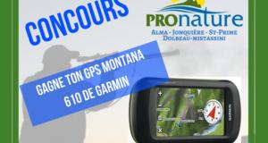 Un GPS Montana 610 de Garmin de 560$