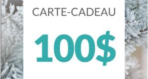 Une carte Cadeau Hyatt de 100$