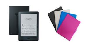 Une liseuse électronique Kindle 6
