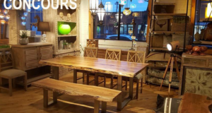 Une table à manger ''Acadia'' de LA PIÈCE