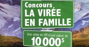 Une virée en VR d'une valeur de 10000$