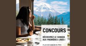 Voyage unique en train vers l'Ouest canadien pour deux personnes