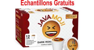 échantillon gratuit des capsules K-Cup Java Moji