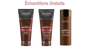 Échantillons des shampoings et revitalisants John Frieda
