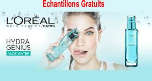 Échantillons gratuits Hydra Genius de L'Oreal Paris