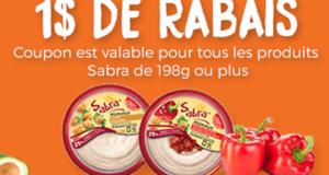 1$ de rabais sur un produit Sabra