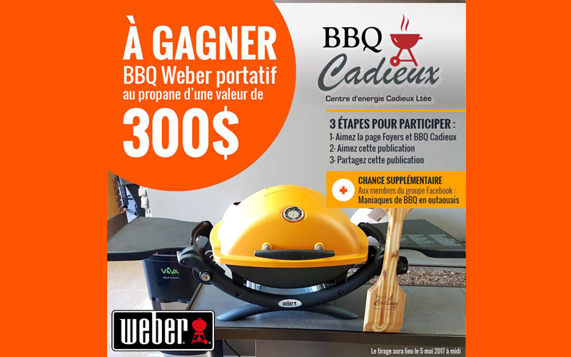 Bbq weber portatif au propane qu bec gratuit - Barbecue weber portatif ...