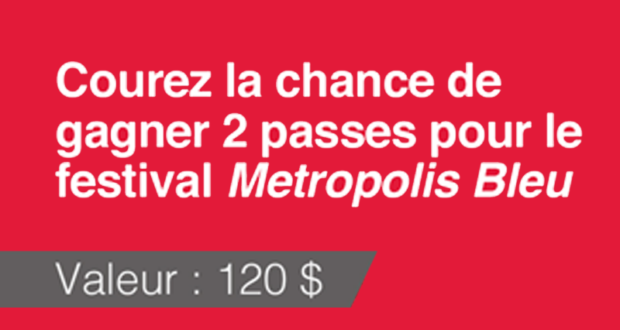 Billets pour le festival litt raire metropolis bleu for Salon de l agriculture 2017 billet gratuit