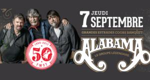 Billets pour voir Alabama au Festival Western de St-Tite