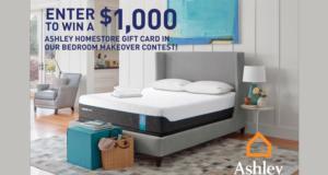 Carte-cadeau Ashley Homestore de 1000$