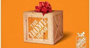 Carte-cadeau Home Dépôt de 100$