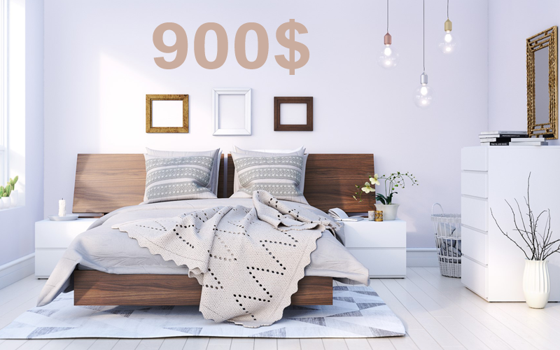 Meubles chambre quebec for Mobilier chambre
