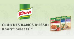 Testez gratuitement les nouveaux repas Knorr Selects