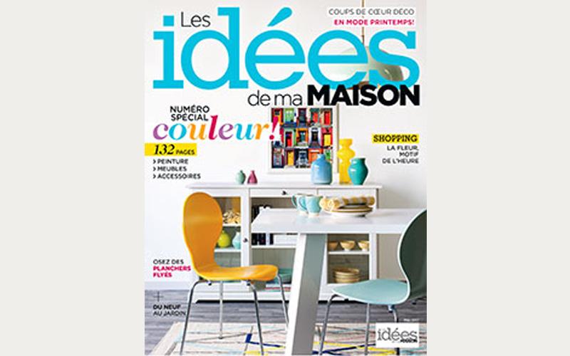 Un abonnement au magazine les id es de ma maison for Les idees de ma maison abonnement
