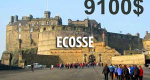 Voyage de 9100$ en Écosse