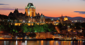 Voyage pour deux à Québec