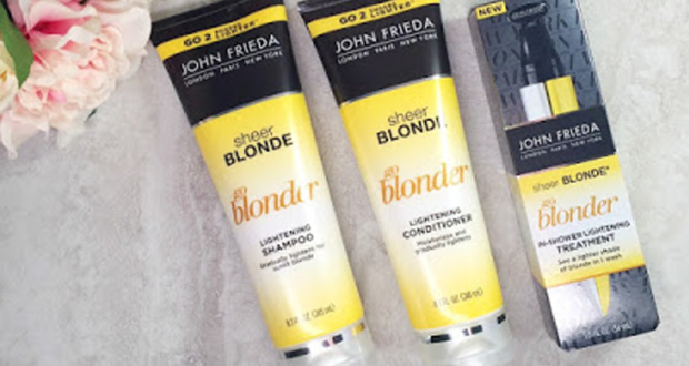 Échantillons gratuits Sheer Blonde Go Blonder de John Frieda