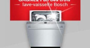 3 lave-vaisselle Bosch de 3699$