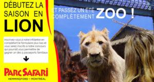 5 passeports saison pour 4 personnes au Parc Safari