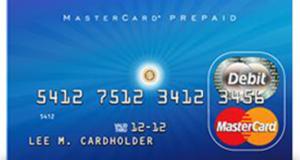 Carte Mastercard prépayée de 500$