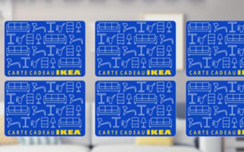 Carte cadeau ikea de 100 chantillons gratuits concours coupons rabais deals au qu bec - Carte cadeau ikea france ...