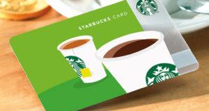 Carte cadeau Starbucks de 50$