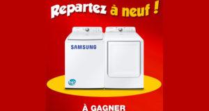 Ensemble laveuse sécheuse Samsung