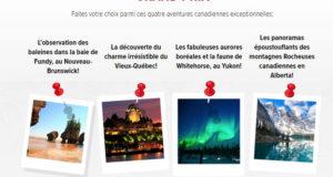 Gagnez un voyage pour quatre au Canada