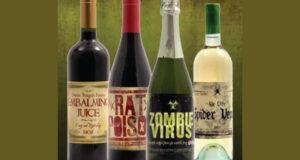 Stickers Halloween Gratuit pour bouteilles