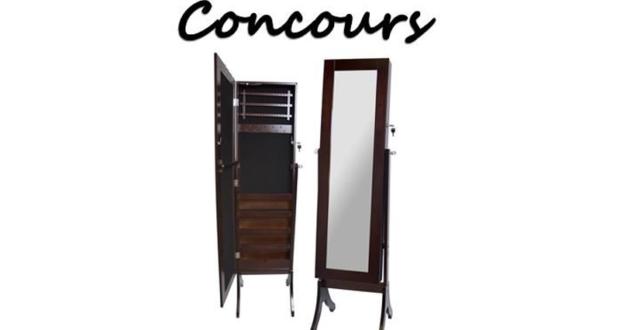 Un miroir coffre bijoux chantillons gratuits for Coffre a bijoux miroir
