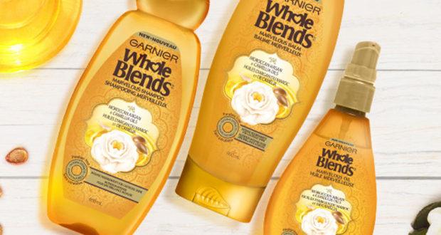 Échantillons Gratuits des shampoing à l'huile d'argan de Garnier