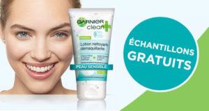 Échantillons gratuits de la lotion démaquillante Clean+