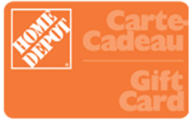 carte cadeau de 200 chez home depot chantillons gratuits concours coupons rabais deals. Black Bedroom Furniture Sets. Home Design Ideas