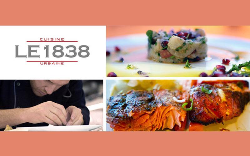 ch 232 que cadeau de 50 au restaurant le 1838 cuisine urbaine qu 233 bec gratuit