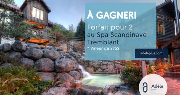 forfait pour deux au spa scandinave de tremblant. Black Bedroom Furniture Sets. Home Design Ideas