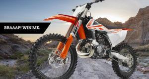 Moto KTM 250 SX de 7700$