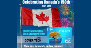 Une Carte-cadeau Visa de 150 $