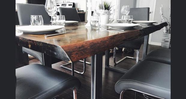 Une table de cuisine sign concept m chantillons for Gagner une cuisine 2017