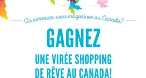 Une virée shopping de rêve au Canada